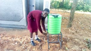 The Water Project:  New Latrines And Handwashing Stations