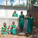 The Water Project: Madegwa Primary School -  Finished Latrines