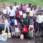 The Water Project: Emachembe Community A -  Flowing Water