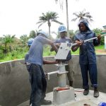 The Water Project: PC Bai Shebora Gbereh III Primary School -  Pump Installation