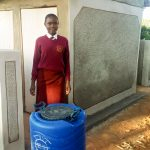 The Water Project: Shikhondi Girls Secondary School -  New Latrines And Handwashing Stations
