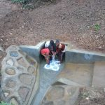 The Water Project: Handidi Community, Chisembe Spring -  Flowing Water