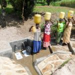 The Water Project: Muyundi Community, Ngalame Spring -  Finished Spring