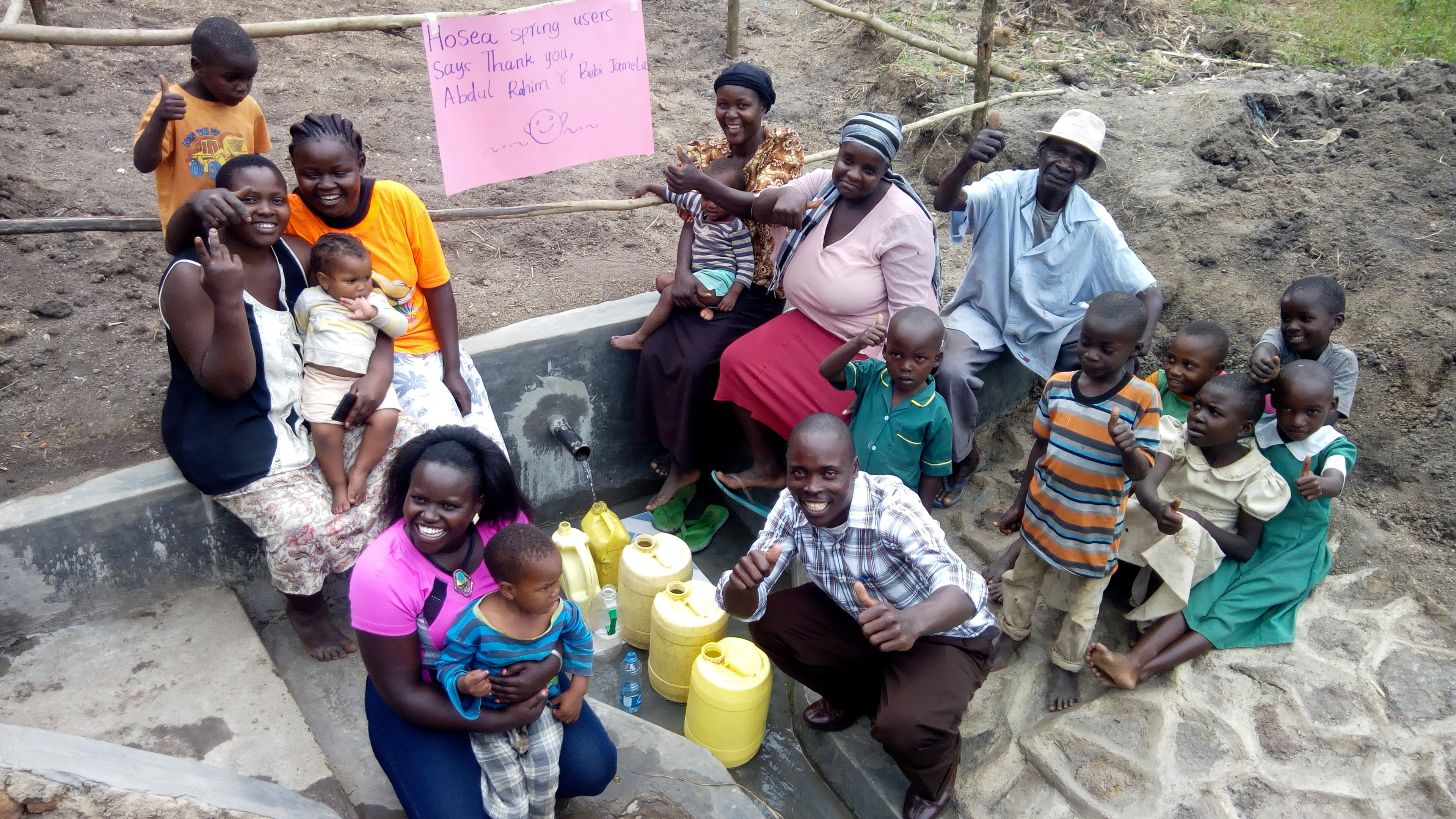 The Water Project : 28-kenya18145-thank-you