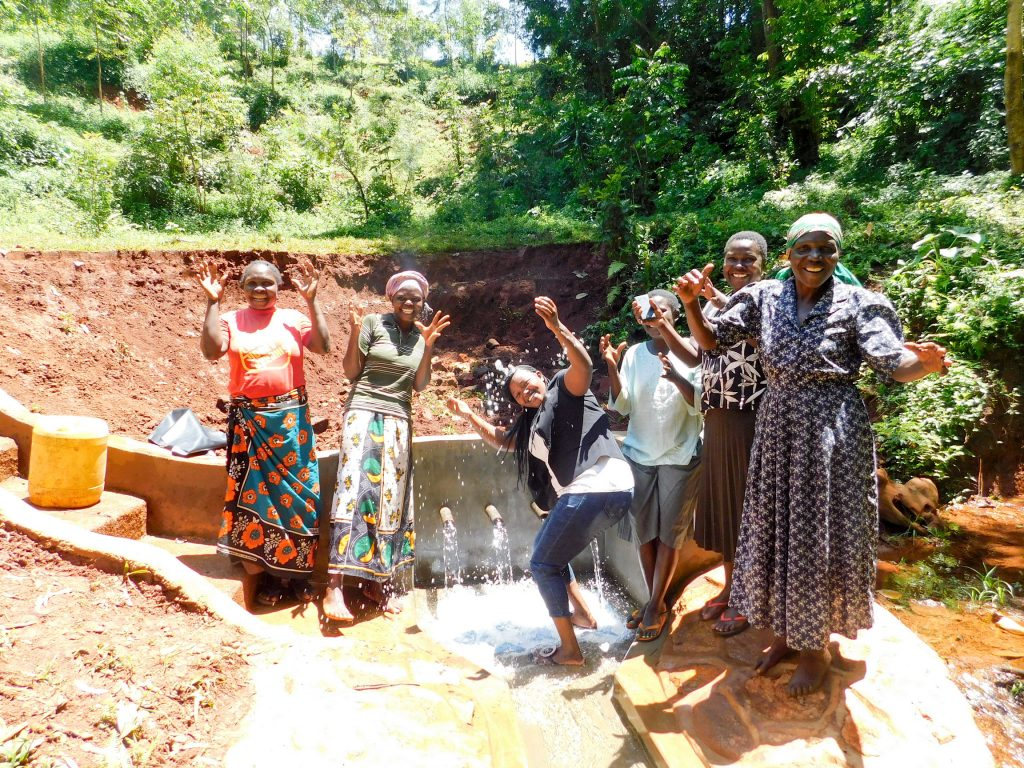 The Water Project : 29-kenya18128-flowing-water