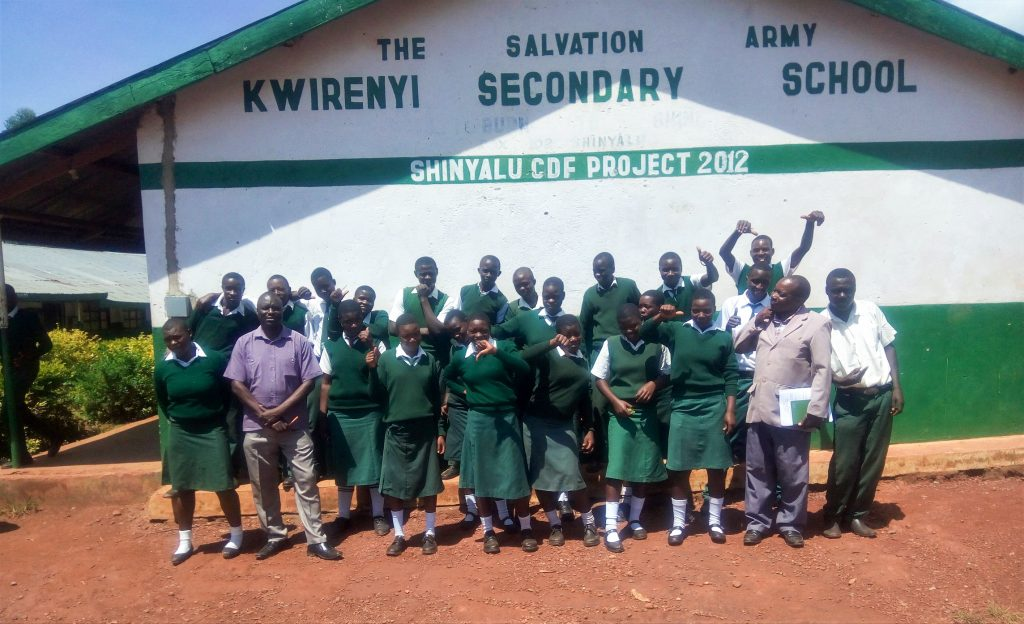 The Water Project : 3-kenya18036-students