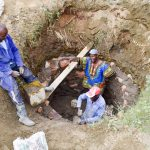 The Water Project: Ngitini Community A -  Well Construction