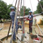 The Water Project: Mabendo Community -  Drilling