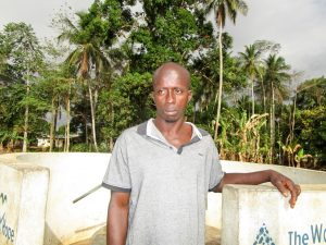 The Water Project:  Dauda Sesay
