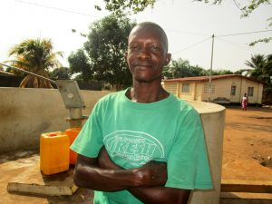The Water Project:  Alhaji Bangura