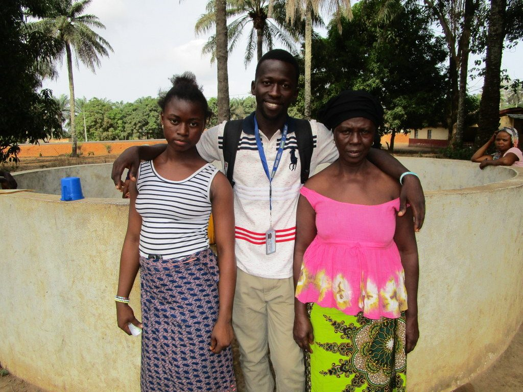 The Water Project : 3-sierraleone5118-a-year-with-water