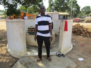 The Water Project:  Alusine Conteh