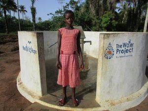 The Water Project:  Masaio Sillah