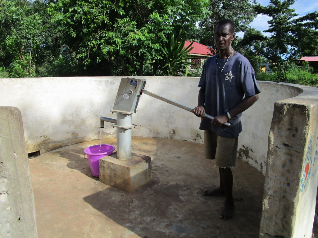 The Water Project : 3-sierraleone5134-a-year-with-water