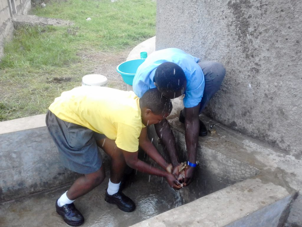 The Water Project : 33-kenya18042-happy-students