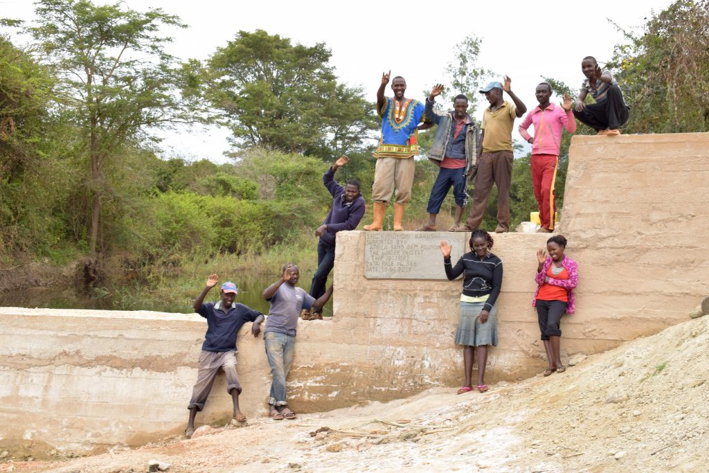 The Water Project : 36-kenya18187-finished-sand-dam