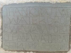 The Water Project:  Tank Dedication