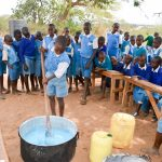 The Water Project: Muunguu Primary School -  Making Soap