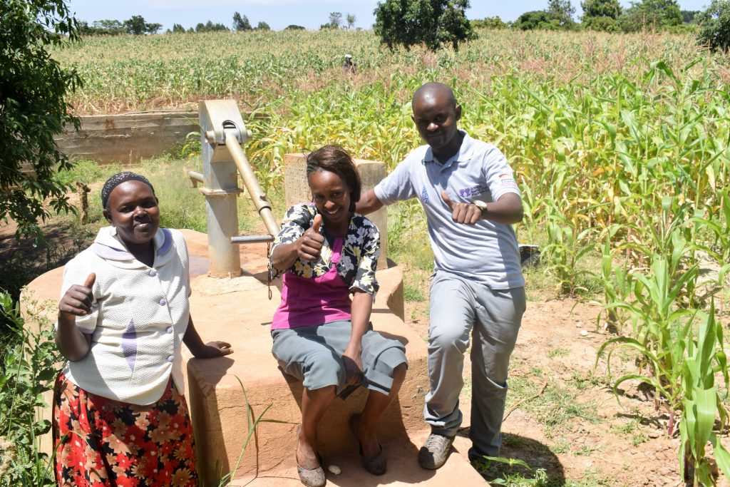 The Water Project : 4-kenya4756-a-year-with-water