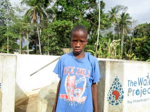The Water Project:  Molai Bangura