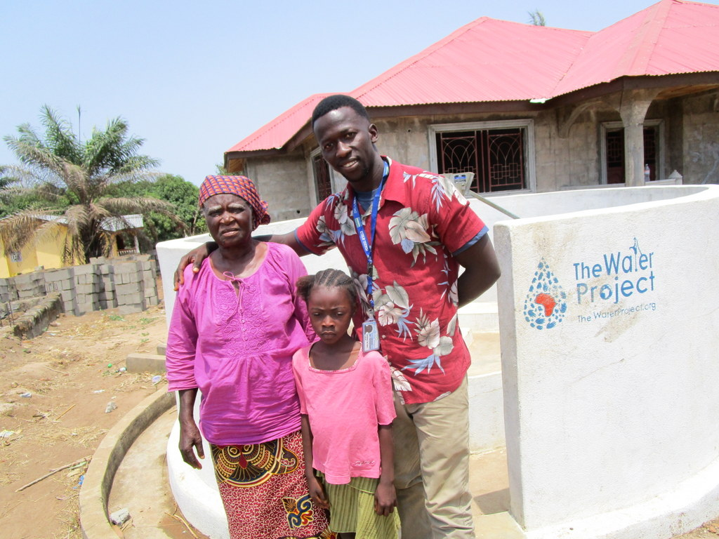 The Water Project : 4-sierraleone5117-a-year-with-water