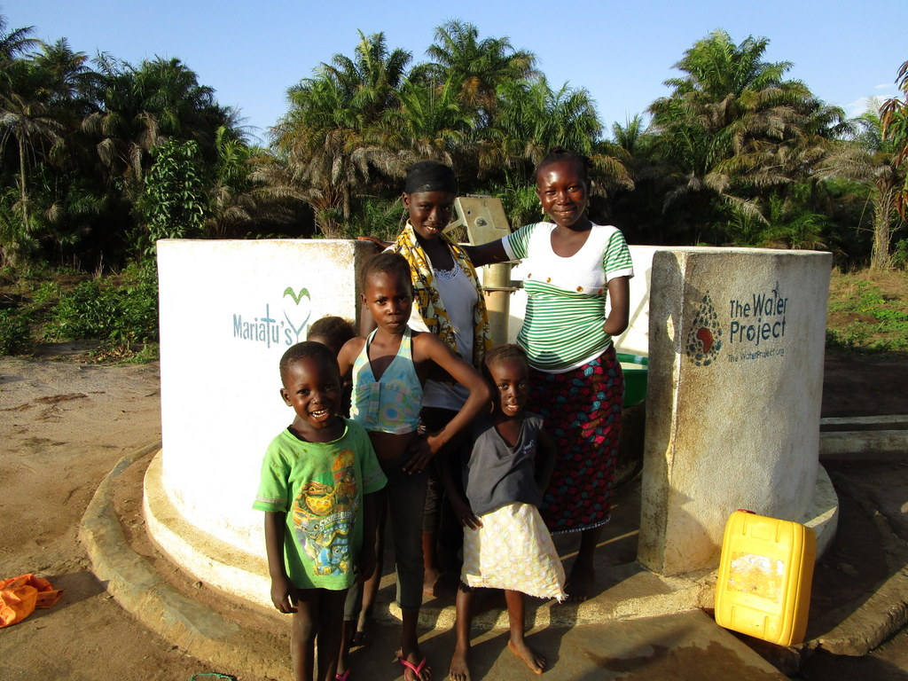 The Water Project : 4-sierraleone5121-a-year-with-water
