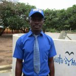 The Water Project: Kulufai Rashideen Secondary School -  Alie Kargbo