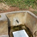 The Water Project: Elukho Community -  Discharge Pipe Repaired
