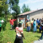 The Water Project: Luvambo Community, Timona Spring -  Handwashing Training