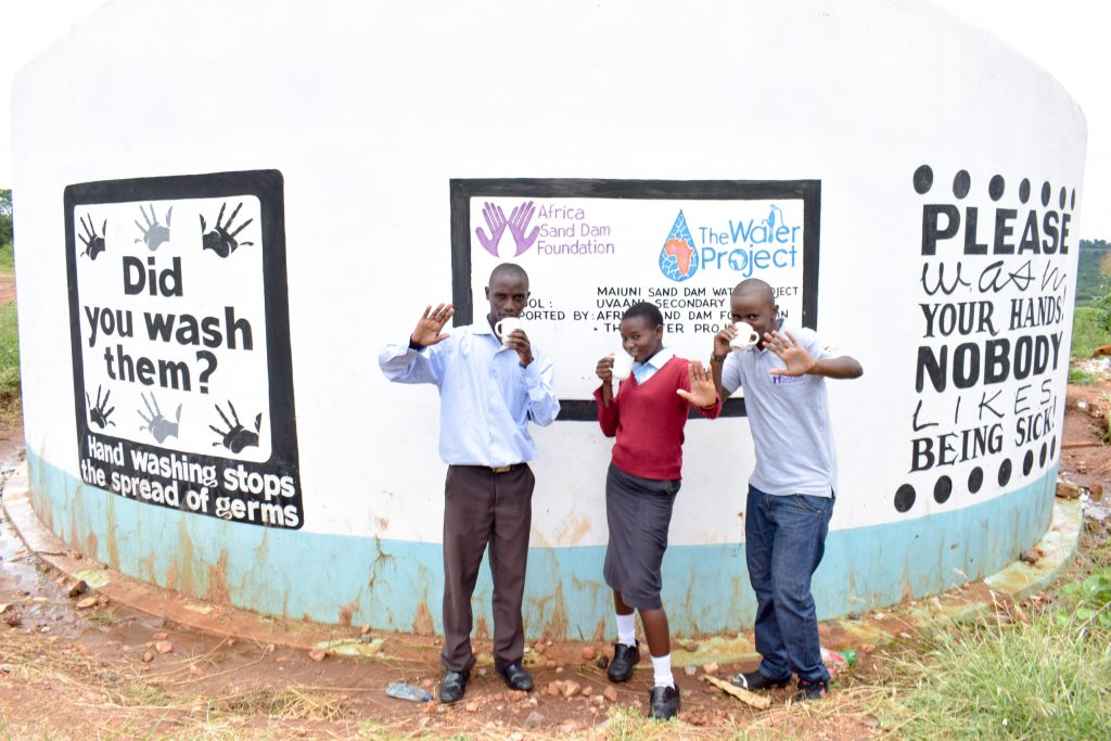 The Water Project : 5-kenya4801-a-year-with-water