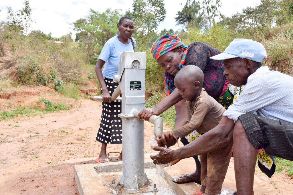 The Water Project : 5-kenya4859-a-year-with-water