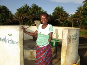 The Water Project:  Yaela Sesay