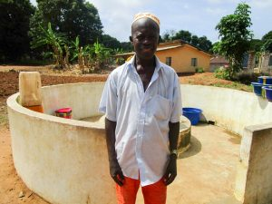 The Water Project:  Pa Gribilla Kamara