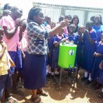 The Water Project: Makuchi Primary School -  Handwashing Training