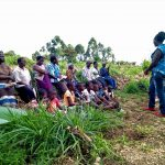The Water Project: Ematetie Community, Weku Spring -  Training