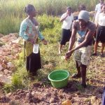 The Water Project: Chebwayi B Community, Wambutsi Spring -  Handwashing Training