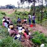 The Water Project: Ematetie Community, Weku Spring -  Handwashing Training