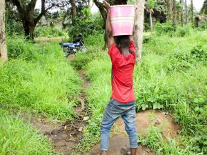 The Water Project:  Carrying Water From The Swamp