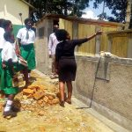 The Water Project: ACK Milimani Girls' Secondary School -  Latrine Hygiene Training
