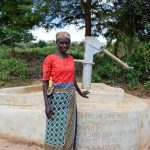 The Water Project: Nzalae Community A -  Florence Mwanziu