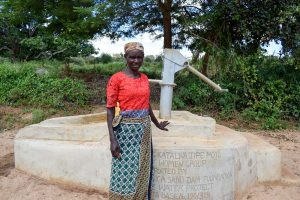 The Water Project:  Florence Mwanziu