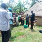 The Water Project: Handidi Community, Chisembe Spring -  Handwashing Training