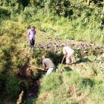The Water Project: Emachembe Community -  Excavating The Spring