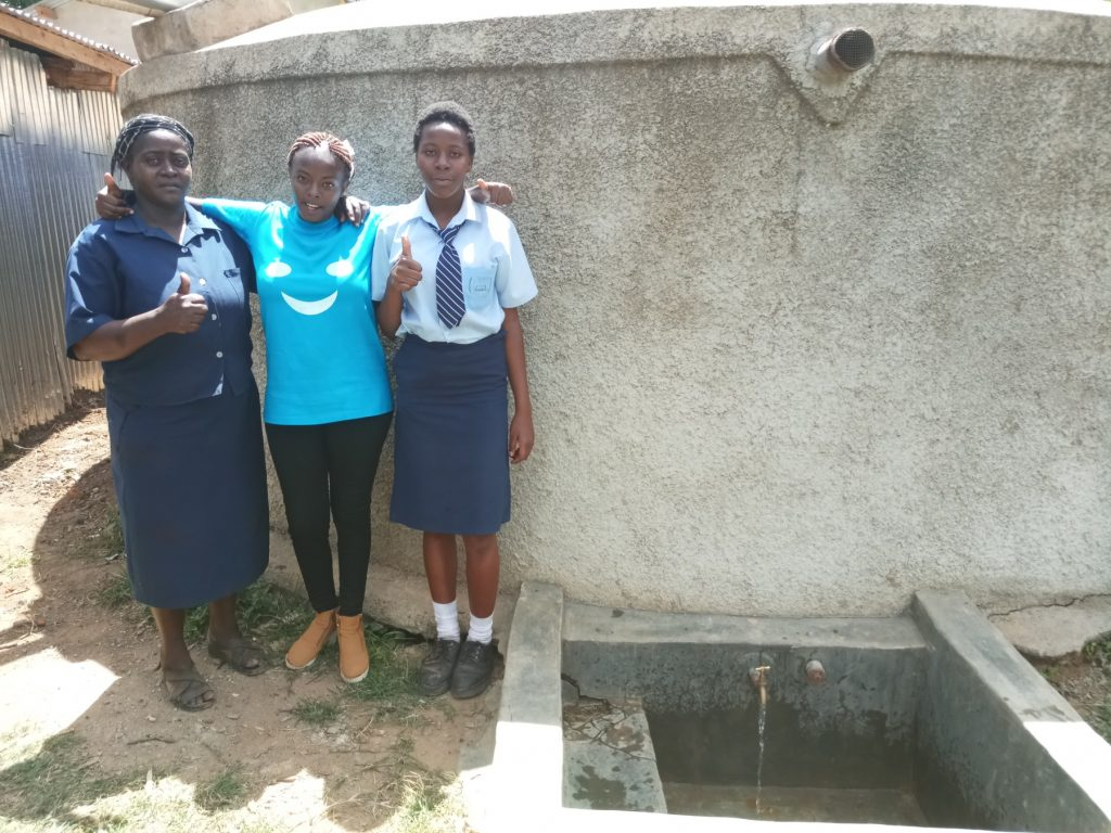 The Water Project : kenya4639-patricia-owano-and-valentine-modi