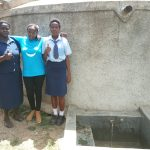 The Water Project: Ikonyero Secondary School -  Patricia Owano And Valentine Modi
