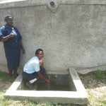 The Water Project: Ikonyero Secondary School -  Valentine Modi Fetches Water