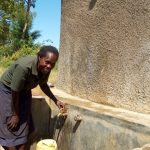 The Water Project: St. Marygoret Girls Secondary School -  Fetching Water