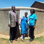 The Water Project: Virembe Primary School -  Silvester Madegwa And Silvia Khavere