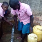 The Water Project: Virembe Primary School -  Water From The Tank