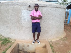 The Water Project:  Caleb Musonye